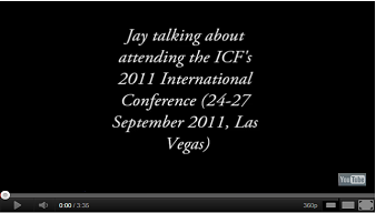 Jay on ICF International Conference